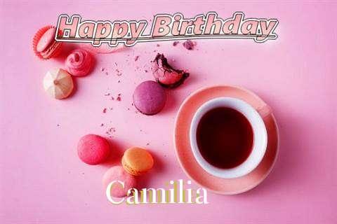 Happy Birthday to You Camilia
