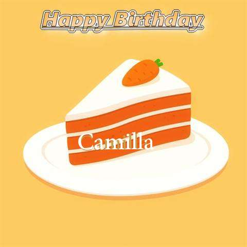 Birthday Images for Camilla
