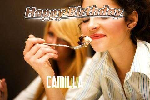 Happy Birthday to You Camilla