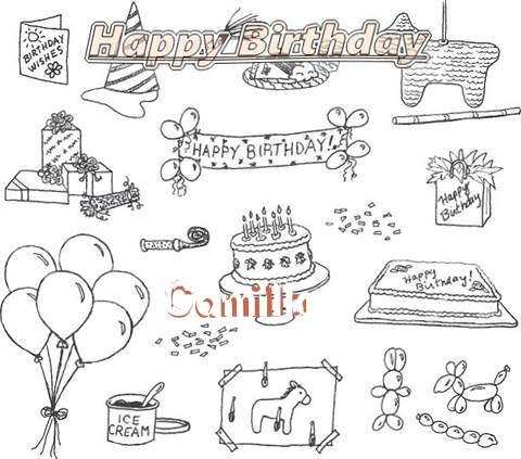 Happy Birthday Cake for Camilla