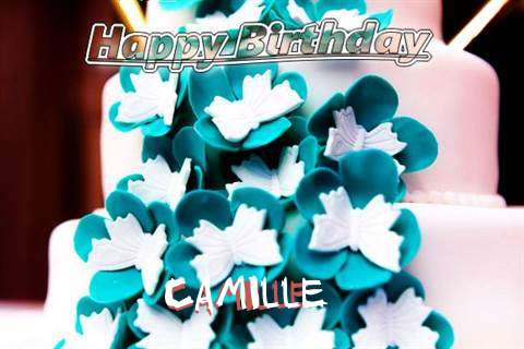 Birthday Wishes with Images of Camille