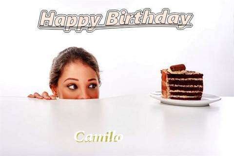Birthday Wishes with Images of Camilo