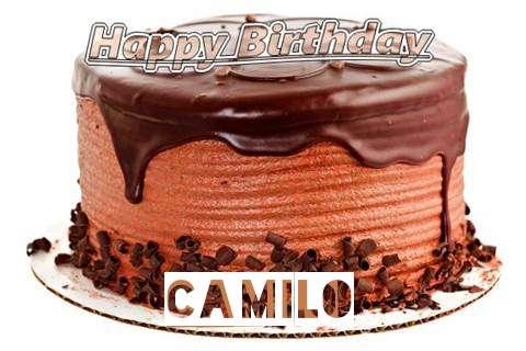 Happy Birthday Wishes for Camilo