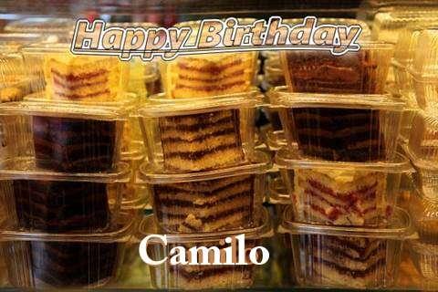 Happy Birthday to You Camilo