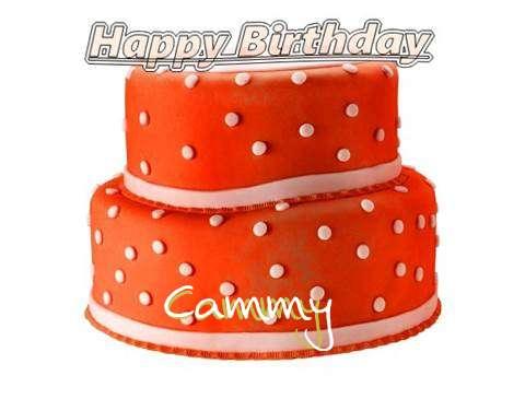 Happy Birthday Cake for Cammy