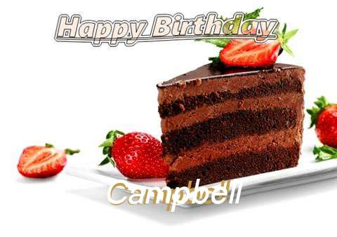 Birthday Images for Campbell