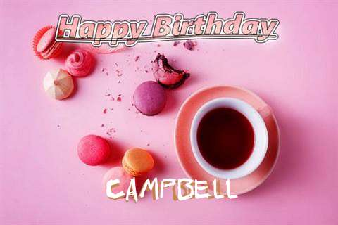 Happy Birthday to You Campbell