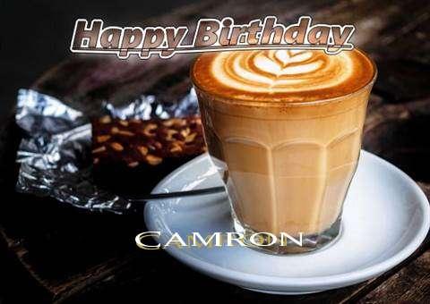 Happy Birthday Camron Cake Image