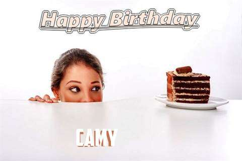 Birthday Wishes with Images of Camy