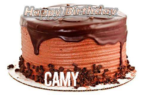 Happy Birthday Wishes for Camy