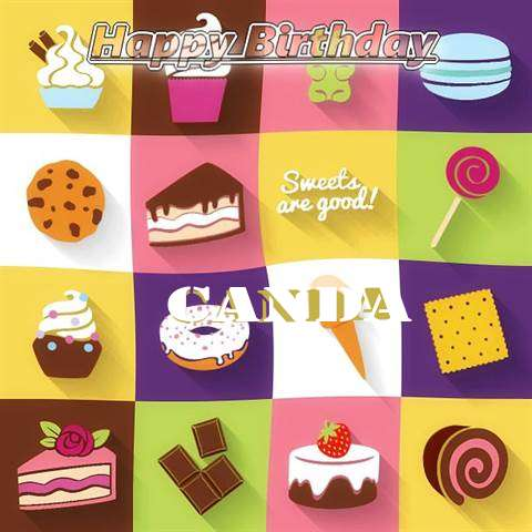 Happy Birthday Wishes for Canda