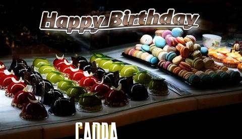 Happy Birthday Cake for Canda