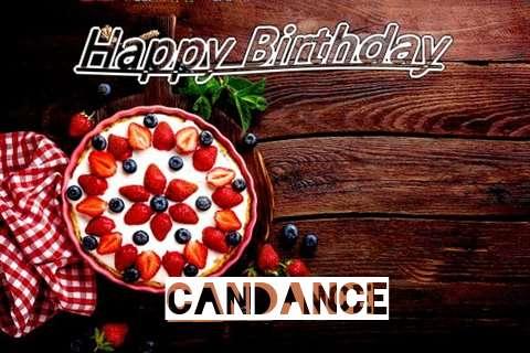 Happy Birthday Candance Cake Image