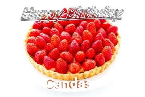 Happy Birthday Candas Cake Image