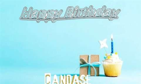 Happy Birthday Cake for Candase