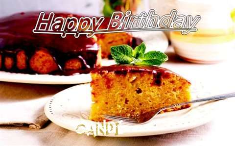 Happy Birthday Cake for Candi