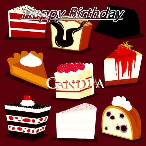 Happy Birthday Cake for Candia