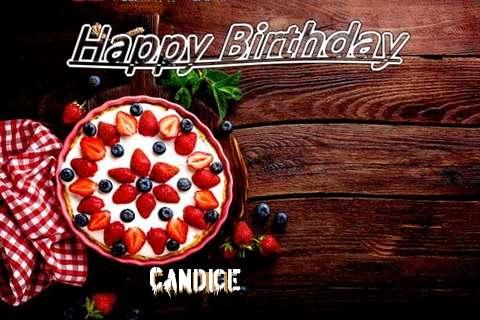Happy Birthday Candice Cake Image
