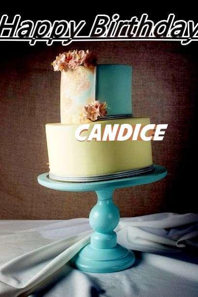 Happy Birthday Cake for Candice