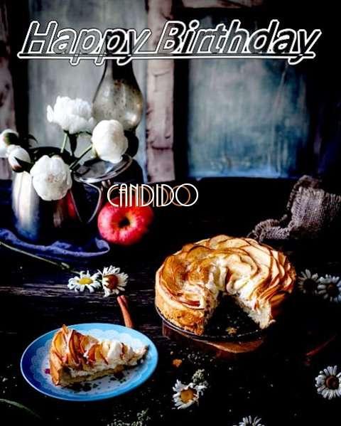 Happy Birthday Candido Cake Image