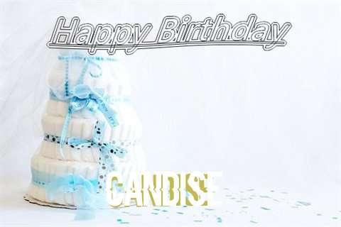 Happy Birthday Candise Cake Image