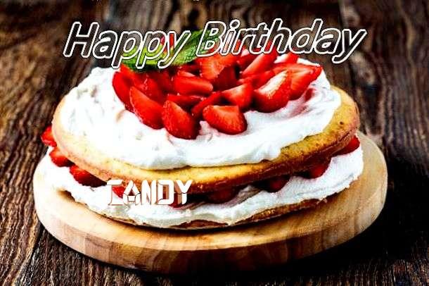 Candy Birthday Celebration
