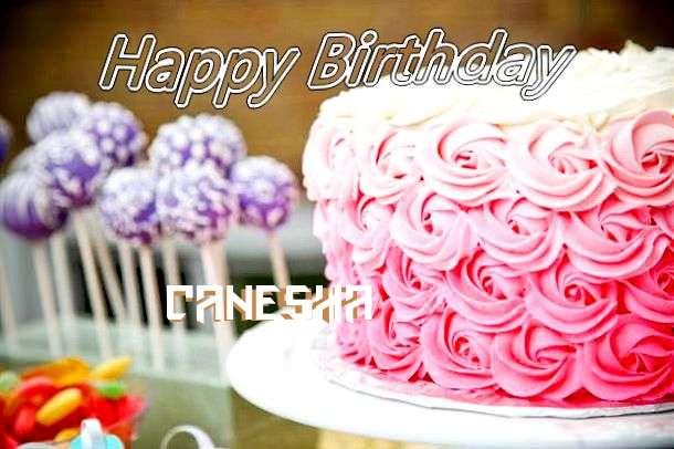 Happy Birthday Canesha