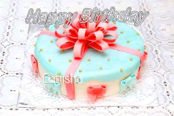 Happy Birthday Wishes for Canisha