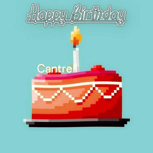 Happy Birthday Cantrell Cake Image