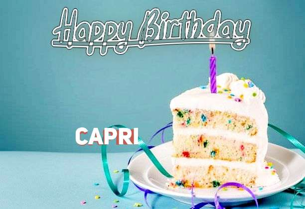Birthday Images for Capri