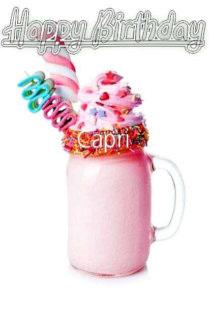 Happy Birthday Wishes for Capri