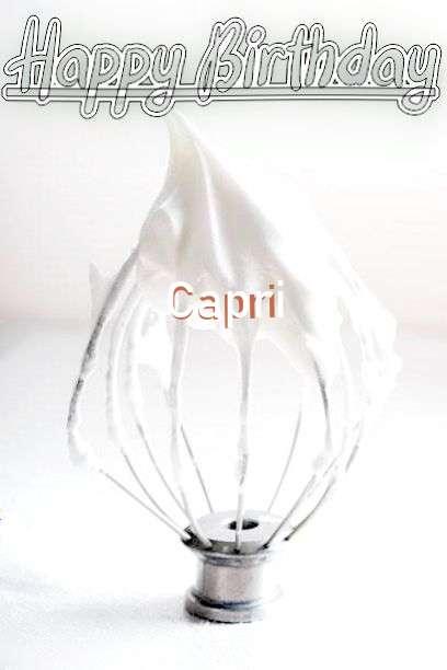 Happy Birthday Cake for Capri
