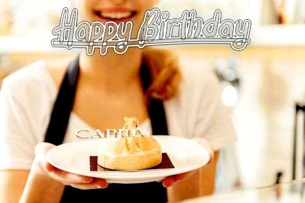 Happy Birthday Capria