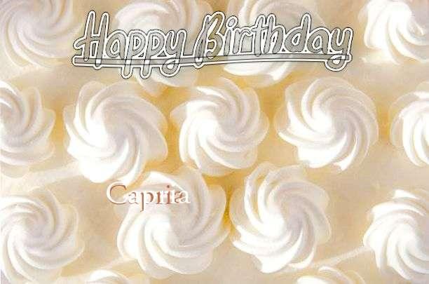 Happy Birthday to You Capria
