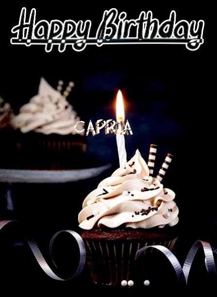 Happy Birthday Cake for Capria