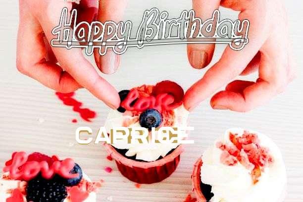 Caprice Birthday Celebration