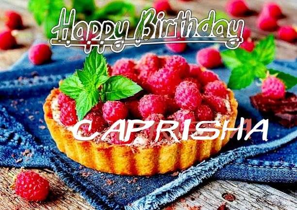 Happy Birthday Caprisha Cake Image