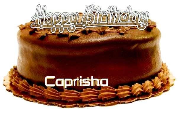 Happy Birthday to You Caprisha