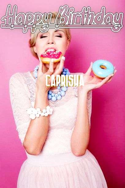 Happy Birthday Cake for Caprisha