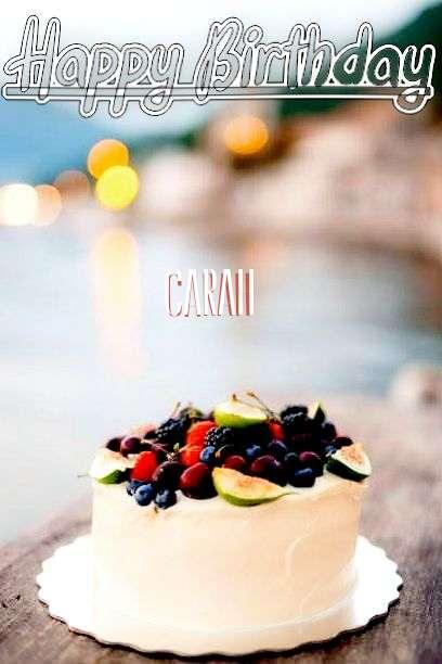 Carah Birthday Celebration
