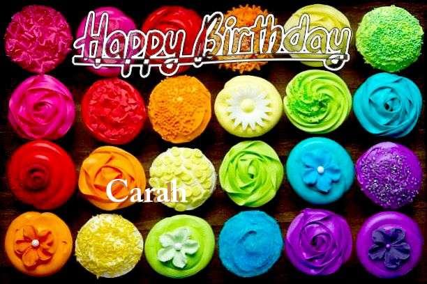 Happy Birthday to You Carah