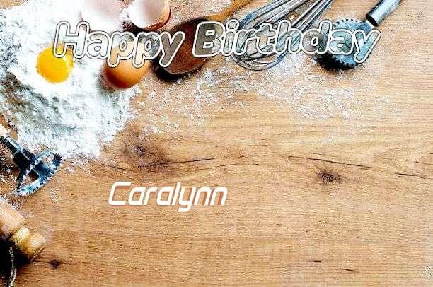 Happy Birthday Cake for Caralynn
