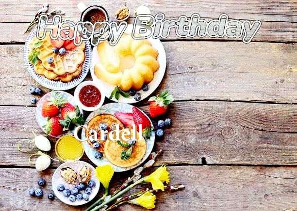 Happy Birthday Cardell