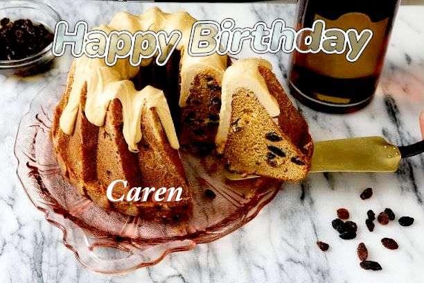 Happy Birthday Wishes for Caren
