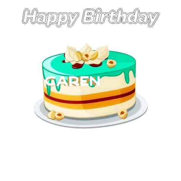 Happy Birthday Cake for Caren
