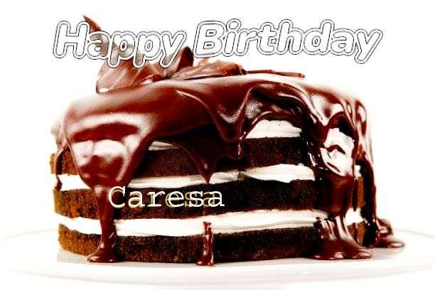 Happy Birthday Caresa