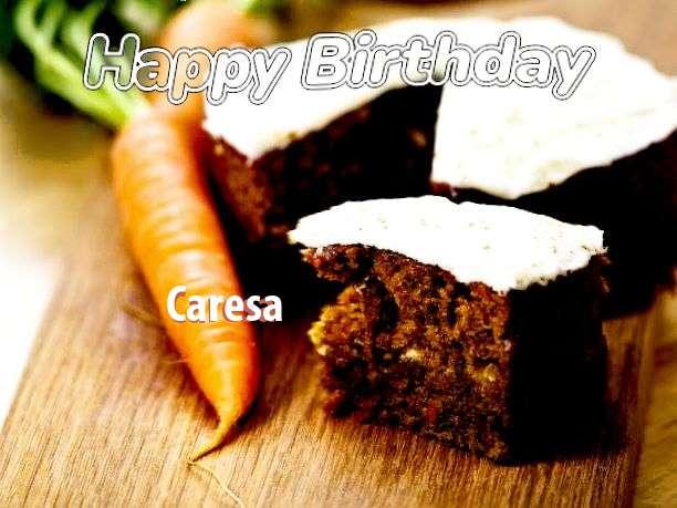 Happy Birthday Wishes for Caresa