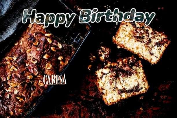 Happy Birthday Cake for Caresa