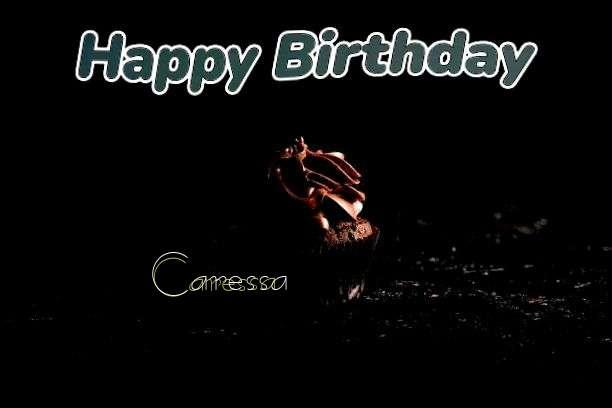 Happy Birthday Caressa Cake Image
