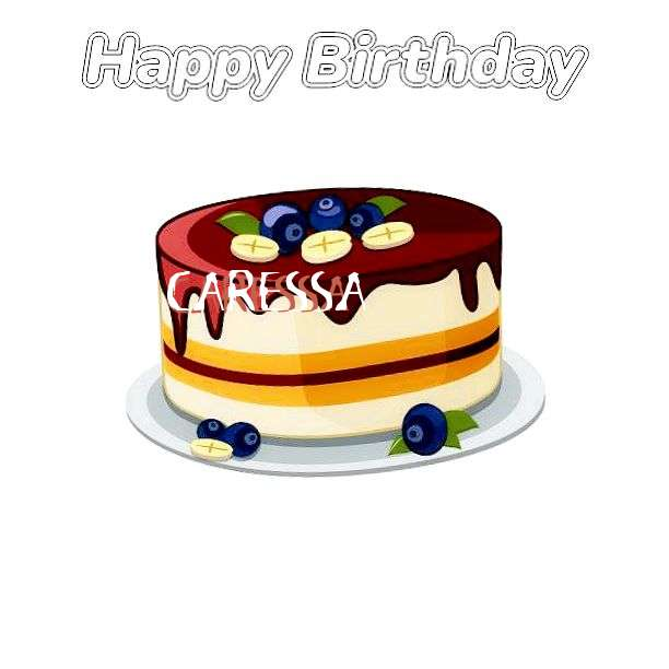 Happy Birthday Wishes for Caressa